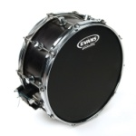 "Evans - 12"" Onyx 2-Ply Coated Head"