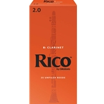 Rico - Clarinet Reeds, Strength 2.5, 10-pack
