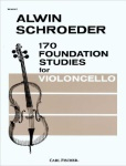 170 Foundation Studies for Violoncello (Cello): Vol. 1
