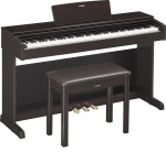 Yamaha - YDP143R Arius Series Console Digital Piano with Bench