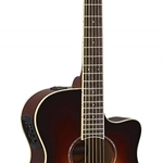 Yamaha - APX600 OVS Thin Body Acoustic-Electric Guitar