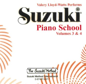 Suzuki Piano School, CD 3 & 4