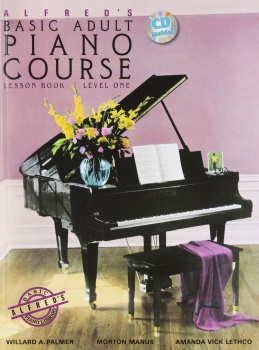Alfred's Basic Adult Piano Course: Lesson Book, Level 1 - With CD