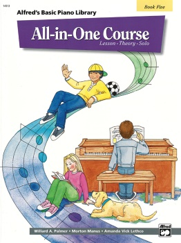 All-in-One Course for Children, Book 5: Lesson-Theory-Solo
