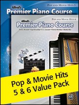 Premier Piano Course: Pop and Movie Hits 5 & 6