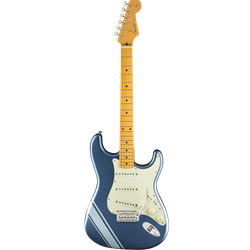 Fender - FSR Traditional 50s Strat, Maple Fingerboard, Lake Placid Blue with Ice Blue Metallic Stripes
