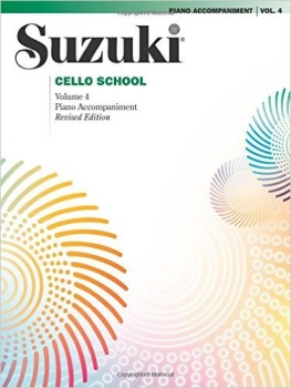 Suzuki Viola School, Vol 4: Piano Acc.